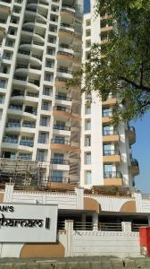 Gallery Cover Image of 1230 Sq.ft 2 BHK Apartment for rent in OSSK Sai Sharnam, Kalyan West for 14000