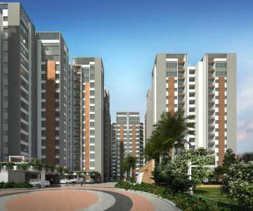 Gallery Cover Image of 1394 Sq.ft 3 BHK Apartment for rent in Jakkur for 30000