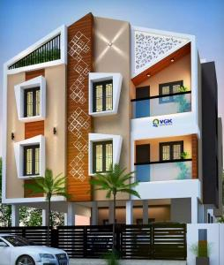 Gallery Cover Image of 1048 Sq.ft 3 BHK Apartment for buy in Sembakkam for 6602400