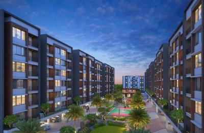 Gallery Cover Image of 732 Sq.ft 2 BHK Apartment for buy in Spacemint Easterlia, Lohegaon for 4356740