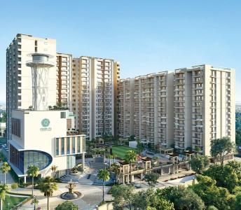Gallery Cover Image of 852 Sq.ft 2 BHK Apartment for buy in Anukampa Sky Lounges, Kankha Ki Dhani for 3700000