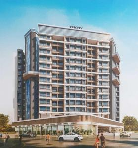 Gallery Cover Image of 655 Sq.ft 1 BHK Apartment for buy in Tricity Luxuria, Greater Khanda for 5730000