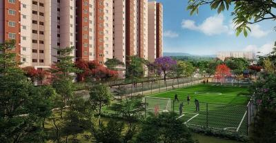 Gallery Cover Image of 950 Sq.ft 3 BHK Apartment for buy in Electronic City for 3400000