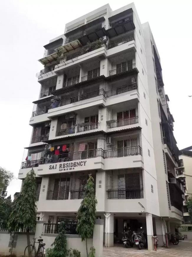 Building Image of 671 Sq.ft 1 BHK Apartment for rent in Kharghar for 14500