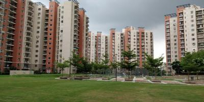 Gallery Cover Image of 1198 Sq.ft 2 BHK Apartment for rent in Mahindra Aura, Sector 110A for 22000