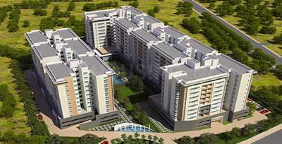 Gallery Cover Image of 1201 Sq.ft 2 BHK Apartment for buy in Puravankara Purva Midtown, Dooravani Nagar for 9000000