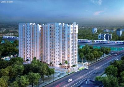 Gallery Cover Image of 1162 Sq.ft 3 BHK Apartment for buy in Thakurpukur for 3253600