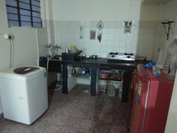 अशोक नगर में अपेकषा पीजी अकॉमोडेशन के किचन की तस्वीर