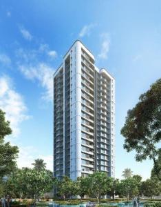Gallery Cover Image of 343 Sq.ft 1 BHK Apartment for buy in Lodha Bel Air, Jogeshwari West for 9500000