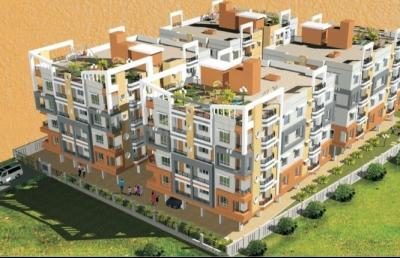 Gallery Cover Image of 690 Sq.ft 1 BHK Apartment for buy in Rajarhat for 2208000