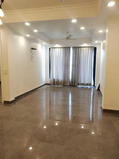 डीएलएफ़ फेज 4  में 3  खरीदें  के लिए 4 Sq.ft 3 BHK इंडिपेंडेंट फ्लोर  के लिविंग रूम  की तस्वीर