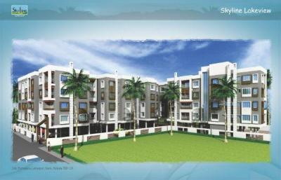 Gallery Cover Image of 1258 Sq.ft 3 BHK Apartment for buy in Vinayak Skyline Lakeview, Garia for 5598100