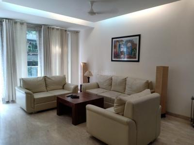 Gallery Cover Image of 2700 Sq.ft 3 BHK Apartment for rent in  Defence Colony, Defence Colony for 175000