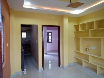 Gallery Cover Image of 600 Sq.ft 1 BHK Independent Floor for rent in Rajendra Nagar for 7500