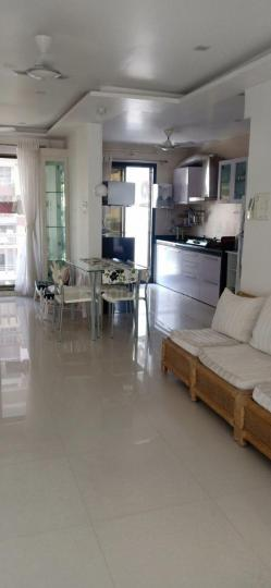 Living Room Image of 1985 Sq.ft 3 BHK Apartment for buy in Platinum The Springs, Kalamboli for 16000000
