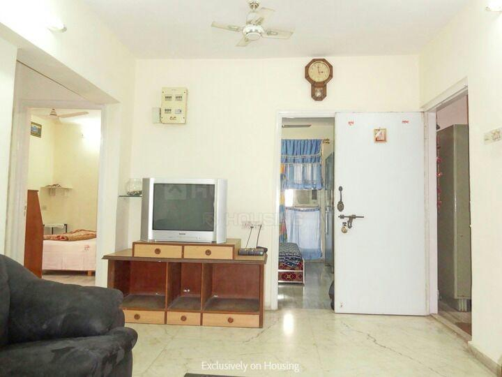Living Room Image of 15000 Sq.ft 3 BHK Apartment for rent in Vashi for 30000