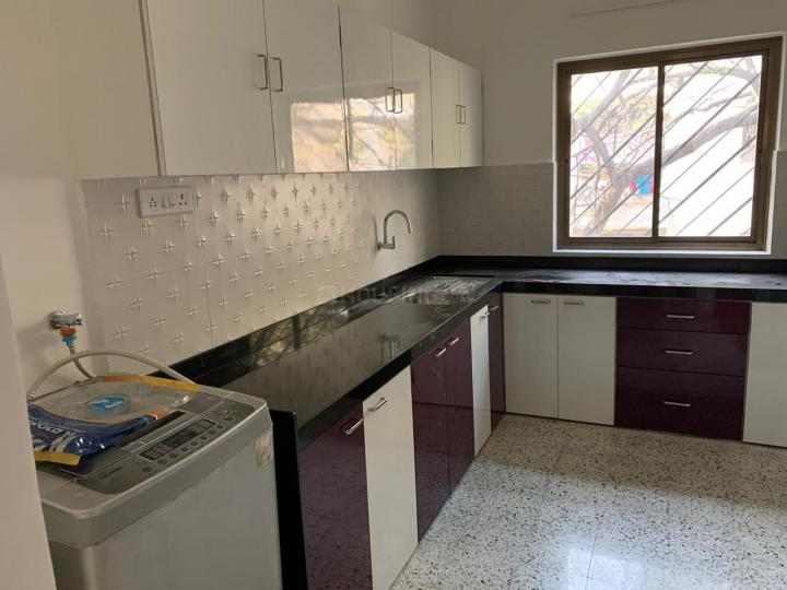 Kitchen Image of 600 Sq.ft 1 BHK Apartment for rent in Sangamvadi for 25000
