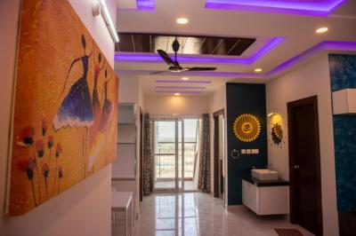 Gallery Cover Image of 1327 Sq.ft 2 BHK Apartment for rent in Prestige High Fields, Nanakram Guda for 38000