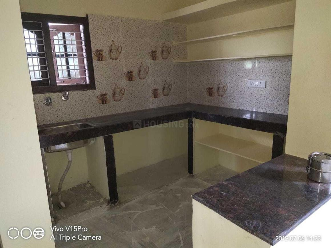 Kitchen Image of 1200 Sq.ft 2 BHK Independent House for rent in Krishna Reddy Pet for 9000
