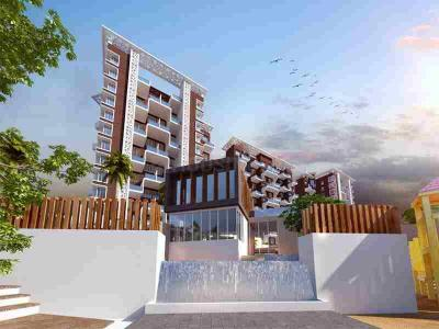 Gallery Cover Image of 677 Sq.ft 1 BHK Apartment for buy in Atrium Skyward Wing B And C, Undri for 2900000