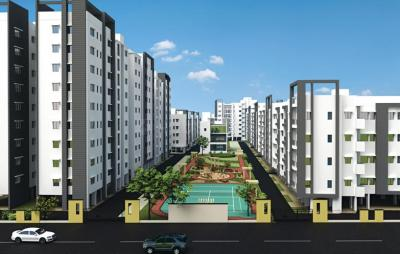 Gallery Cover Image of 607 Sq.ft 1 BHK Apartment for buy in Semmancheri for 2367300
