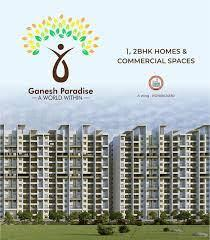 Gallery Cover Image of 969 Sq.ft 2 BHK Apartment for buy in Ganesh Paradise, Chikhali for 4248000