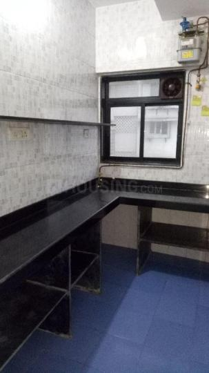 Kitchen Image of 600 Sq.ft 1 BHK Apartment for rent in Sewri for 35000