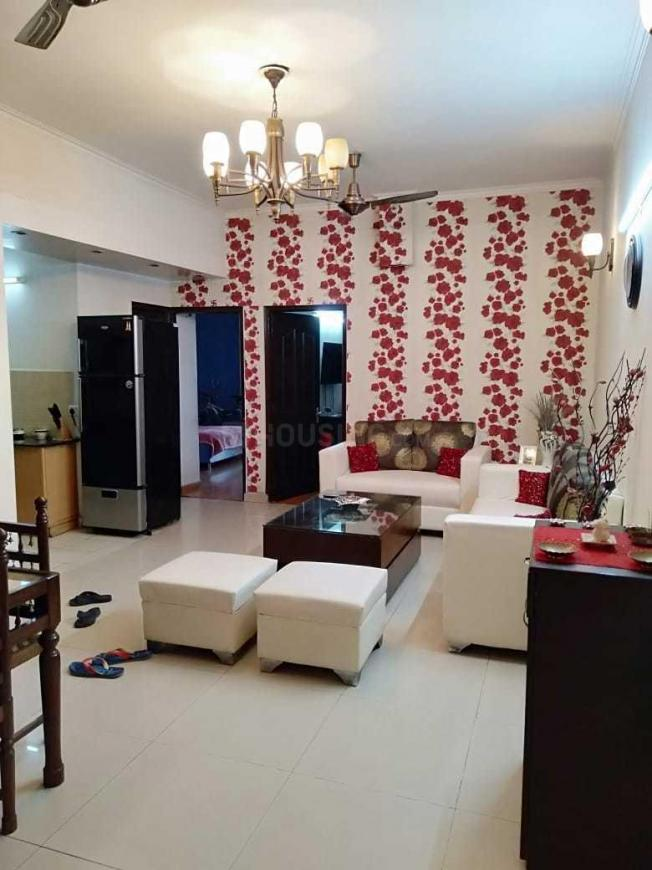 Living Room Image of 1200 Sq.ft 1 BHK Apartment for rent in Vaibhav Khand for 12000