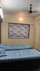 Bedroom Image of Avenue Rooms in Kasarvadavali, Thane West
