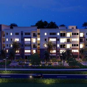 Gallery Cover Image of 1746 Sq.ft 3 BHK Apartment for buy in Orion Palm Dew, Byrathi for 10300000