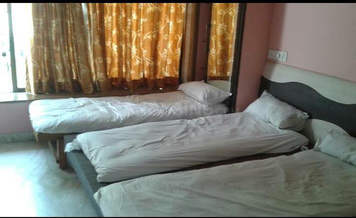 शेख सराई में दिवाकर पीजी के बेडरूम की तस्वीर