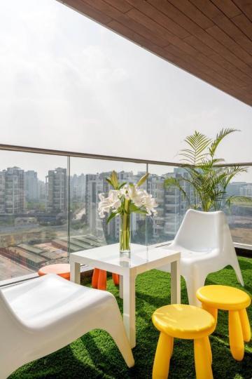 Balcony Image of Ts Corporate Homes in Kharadi