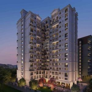 Gallery Cover Image of 628 Sq.ft 1 BHK Apartment for buy in Kohinoor Luxuria, Kalyan East for 5000000