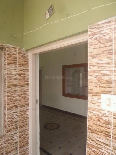 Main Entrance Image of 500 Sq.ft 1 BHK Independent Floor for rent in Thanisandra for 8000