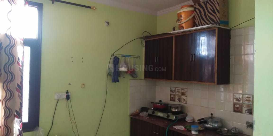 Kitchen Image of 400 Sq.ft 1 BHK Independent Floor for rent in Dwarka Mor for 6000