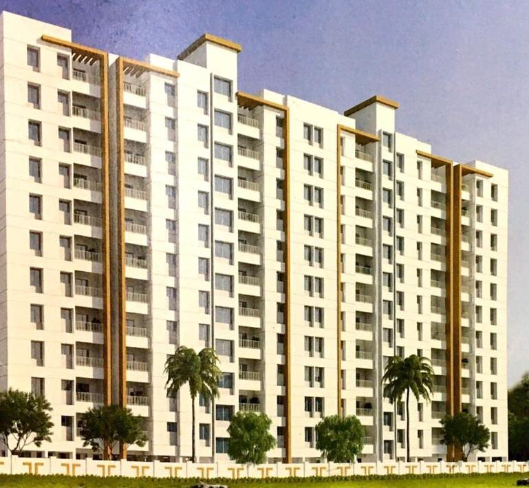 Building Image of 410 Sq.ft 1 BHK Apartment for rent in Yewalewadi for 7500