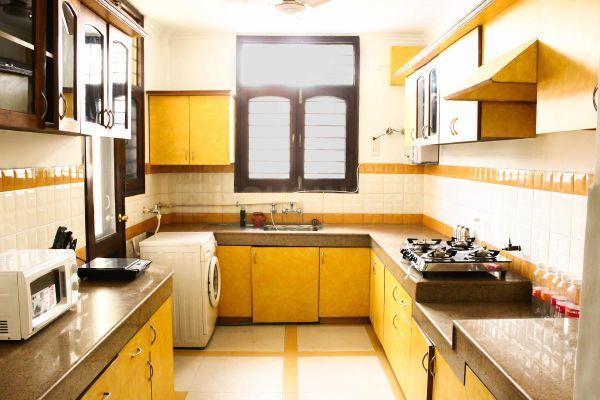 Kitchen Image of PG in Sushant Lok I