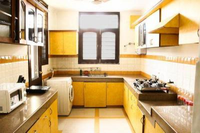 Kitchen Image of PG in Sushant Lok I