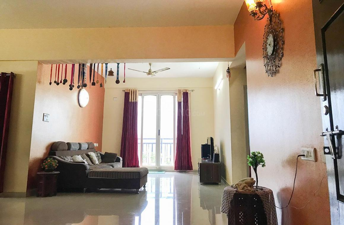 Living Room Image of 1150 Sq.ft 3 BHK Apartment for rent in Miyapur for 31600