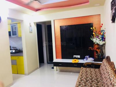 Gallery Cover Image of 695 Sq.ft 1 BHK Apartment for rent in Greater Khanda for 18000