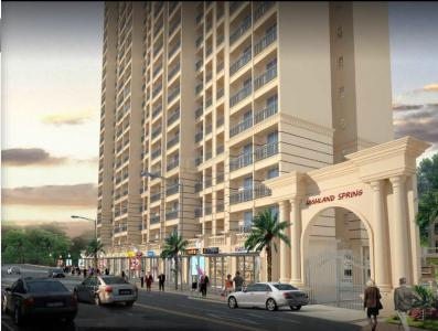 Gallery Cover Image of 729 Sq.ft 1 BHK Apartment for buy in Thane West for 7500000