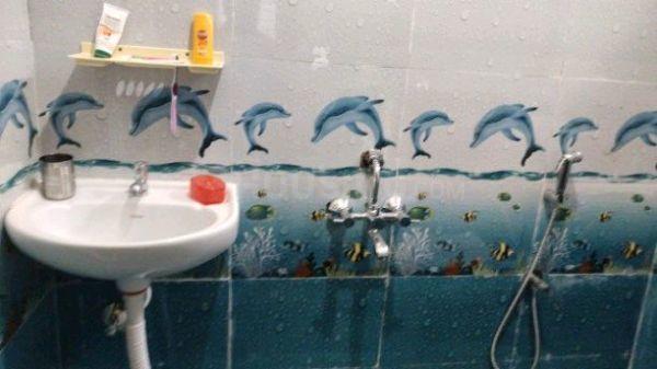 मुरुगेश्पल्य में एसएलएन लक्ज़री पीजी फॉर लेडिज के बाथरूम की तस्वीर