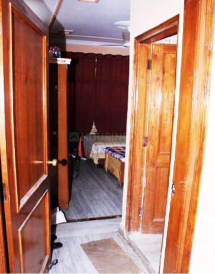 राजिंदर नगर में होस्टल दिल्ली पीजी के बेडरूम की तस्वीर