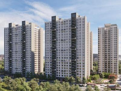 Gallery Cover Image of 1134 Sq.ft 2 BHK Apartment for buy in Godrej Green Glades, Jagatpur for 4900000