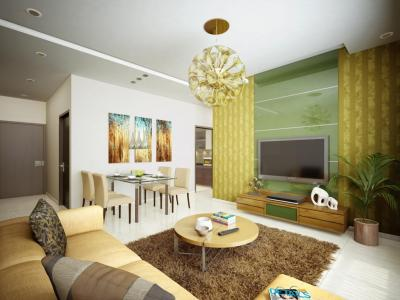 Hall Image of 1300 Sq.ft 3 BHK Apartment for buy in Ahuja Hive O2, Sion for 23500000