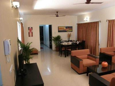 Gallery Cover Image of 1500 Sq.ft 3 BHK Apartment for buy in Sharada Oxford Premium, NIBM  for 13500000