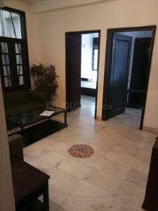 Gallery Cover Image of 1100 Sq.ft 3 BHK Independent Floor for rent in Sant Nagar for 43000