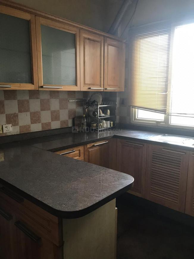 Kitchen Image of 2000 Sq.ft 3 BHK Independent Floor for rent in DLF Phase 2 for 55000