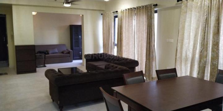 Hall Image of 3200 Sq.ft 4 BHK Apartment for rent in Vedic Sanjeeva Town Bungalows, New Town for 50000