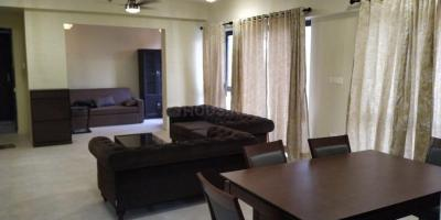 Gallery Cover Image of 2100 Sq.ft 3 BHK Apartment for rent in Greenwood Nest, New Town for 35000